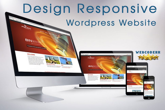 I will Design Responsive Wordpress Website