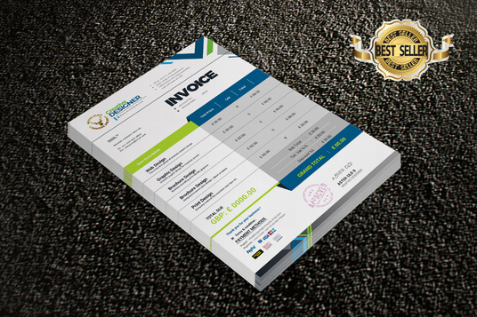 design professional invoice for your business