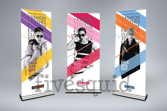 I will Design Awesome Roll Up Banner In 24 Hours