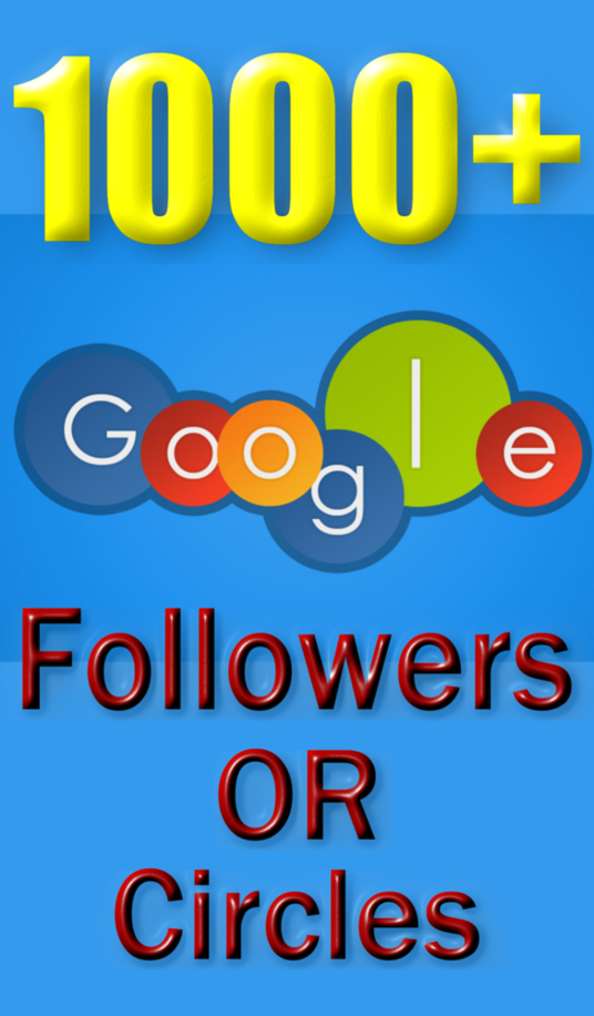I will Add 1000 REAL Google+ Followers to Improve Your Social Media & Increase SEO