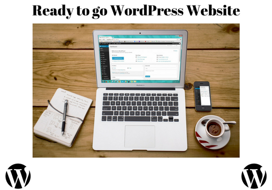 I will build a ready to go WordPress website