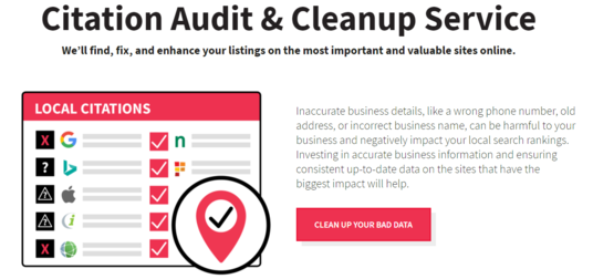 I will do local seo citation audit and citation cleanup, error fixing