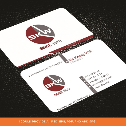 I will do Professional business card, print ready
