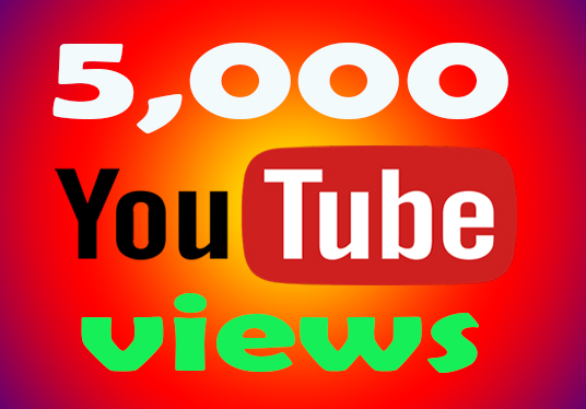 I will provide 5,000 Real Youtube Views