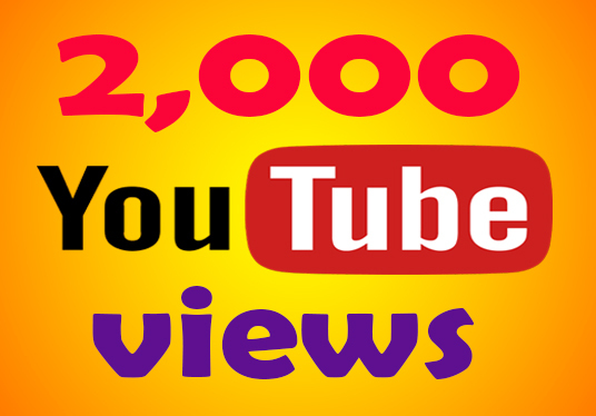 I will Provide 2,000 High-Quality Youtube Views