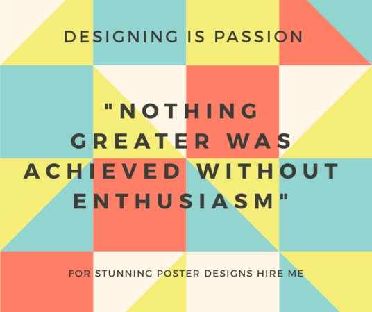 I will design an amazing poster within 24 hours