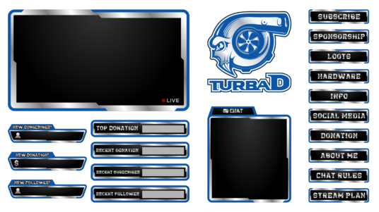 how to make a twitch overlay ps4