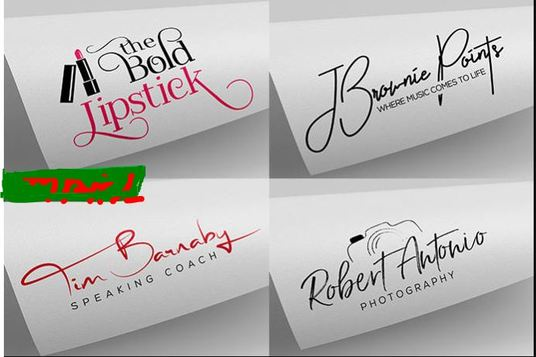 I will Design 2 Luxury Classic Professional Signature Logo, choose the best one