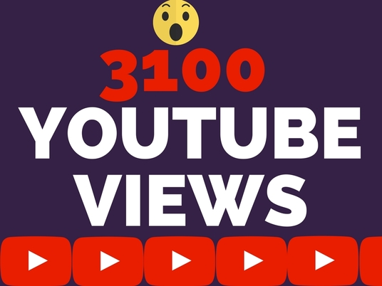 I will give 3100 Youtube Views Fast Delivery