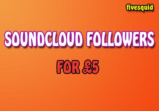 I will Provide 500+ Soundcloud Followers
