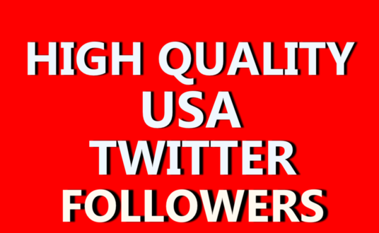 I will add 1000 Top Quality USA Twitter Followers Without Admin Access