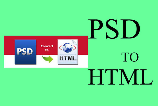 I will Convert Psd To Html Responsive Template