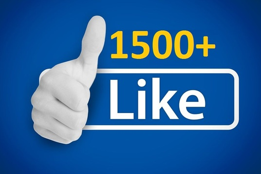 I will add fast 1500 Facebook fan Page Like only