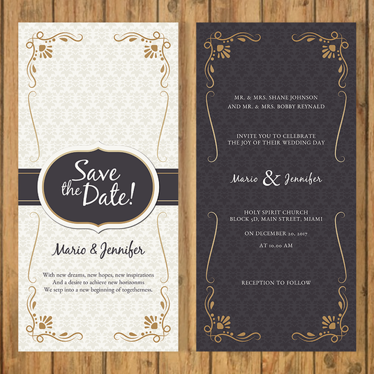 I will design invitation cards