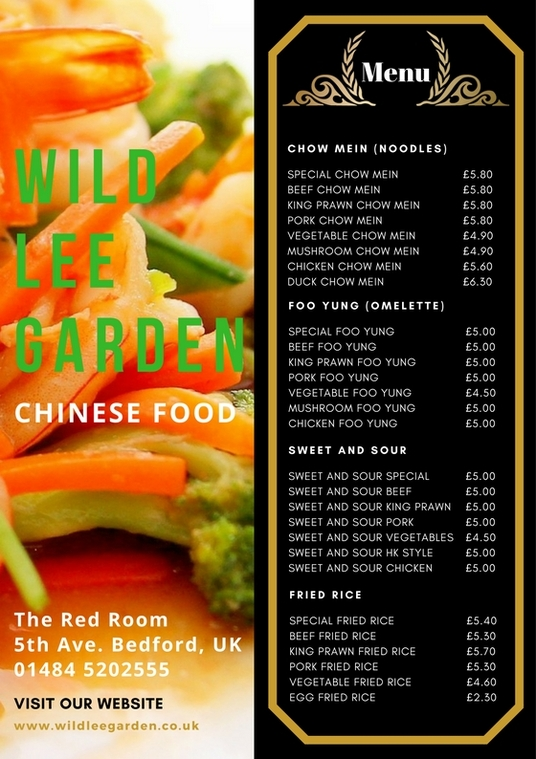 I will create a Professional A5 Food and Drink Industry Menu Price List Design Single Sided