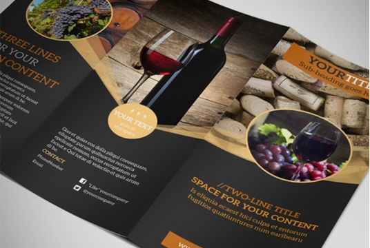 I will Design  flyers and brochures