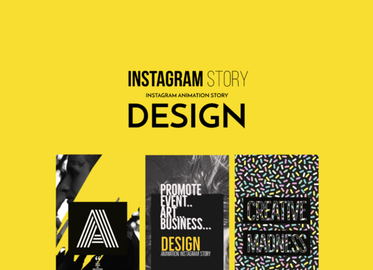 I will design an Instagram story