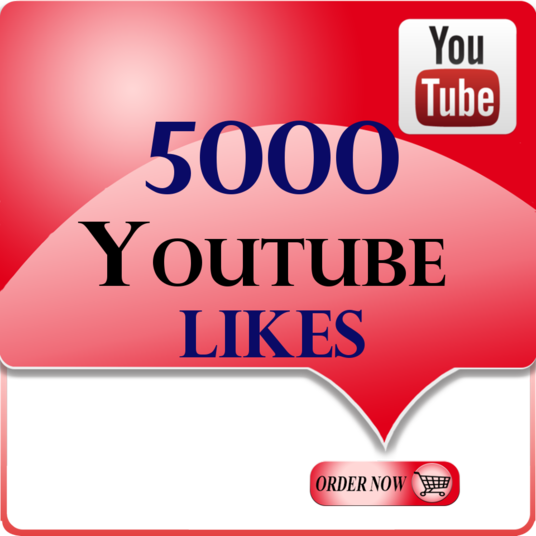 I will give you real 5000+ youtube likes in your YouTube video