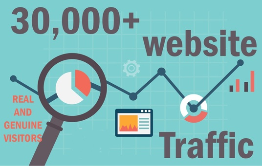 I will send 30,000+ keyword targeted traffic from google