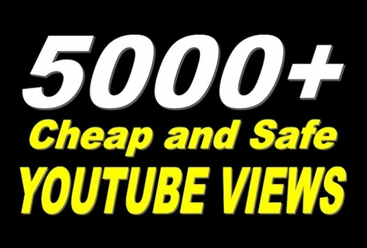 I will Give 5000 High Retention Youtube Views