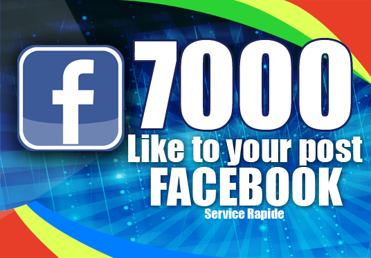 I will add 7000 Likes to your Post Facebook