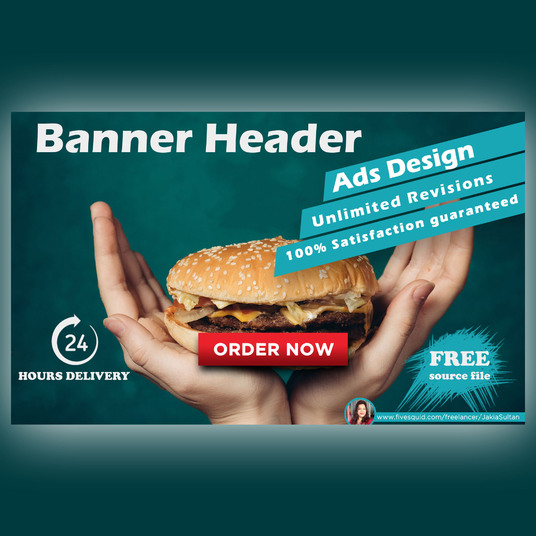 I will Do Professional Web Banner, Header, Ads And Cover Design