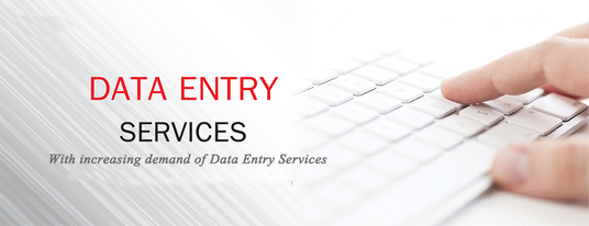 I will do data entry jobs for you