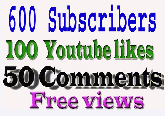 I will provide 600 genuine youtube subscribers