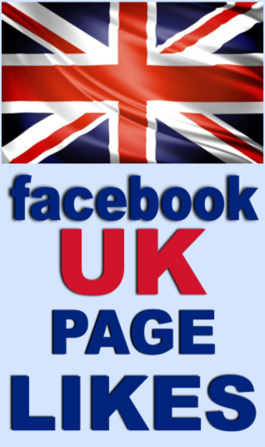 I will Gain real UK facebook fanpage likes