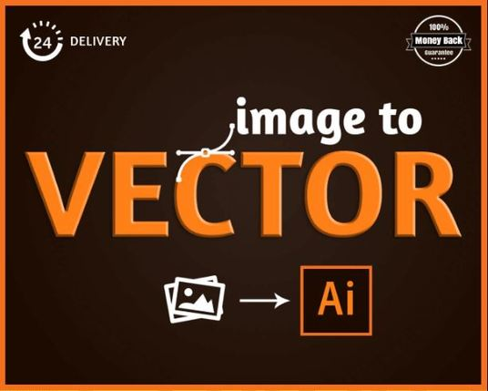 I will change your image logo to vector  logo
