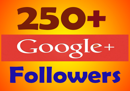 I will provide 250 Google plus followers