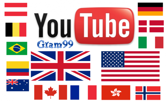 I will Get FAST 1000 GEO target Youtube views+30Likes