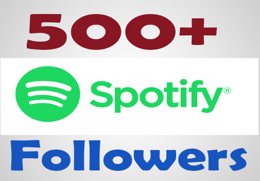 I will provide 500 Spotify Followers