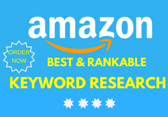 I will do depth Amazon  keyword research