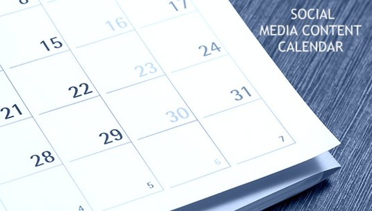 I will create a ready to use ONE MONTH Social Media Content Calendar for your business