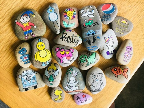 paint you a personalised rock/stone