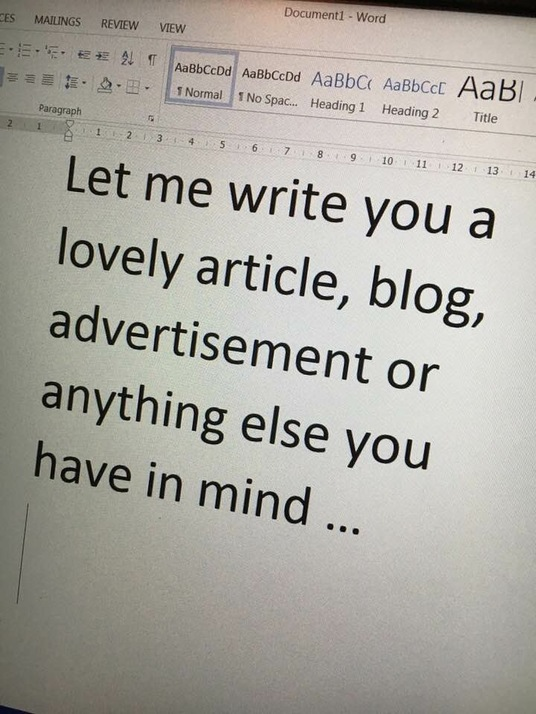 I will write an article or other content up to 500 words