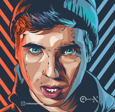 draw your amazing vector illustration in hardstyle