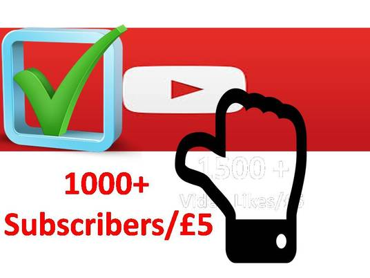 I will add 1000 YouTube Non-drop Subscribers with fast delivery