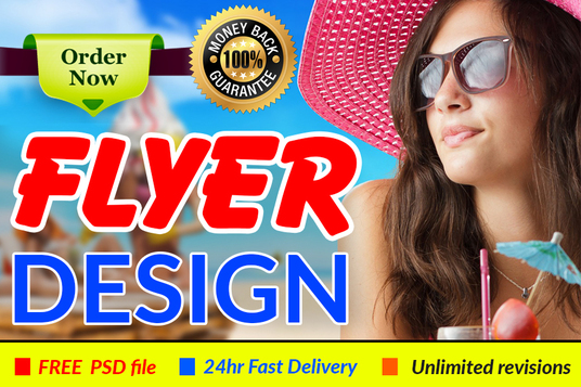 I will design a professional brochure, flyer or Poster