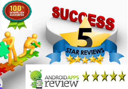 I will Give You 10 Real Review And Rating For Your Android Free App