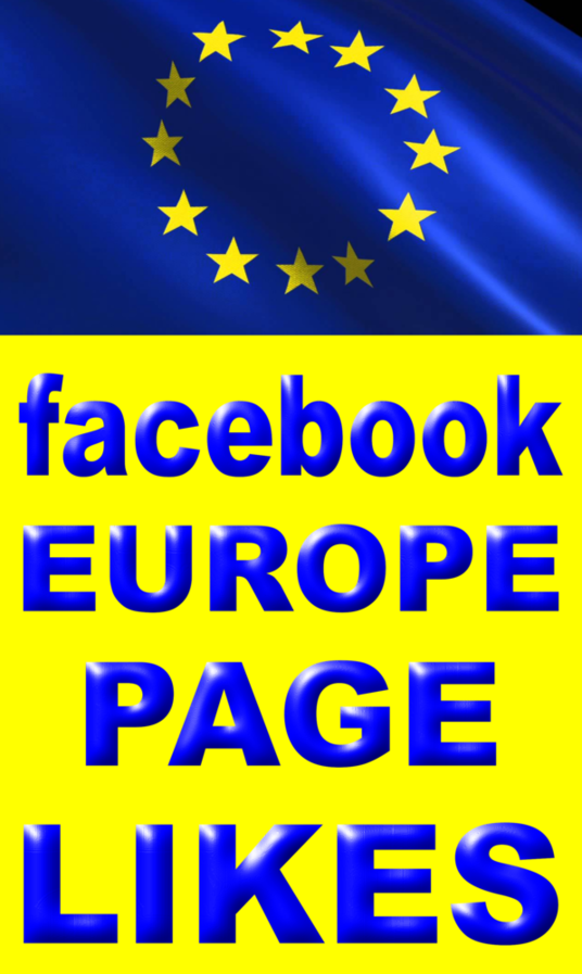 I will Help you gain real EUROPE facebook fanpage likes
