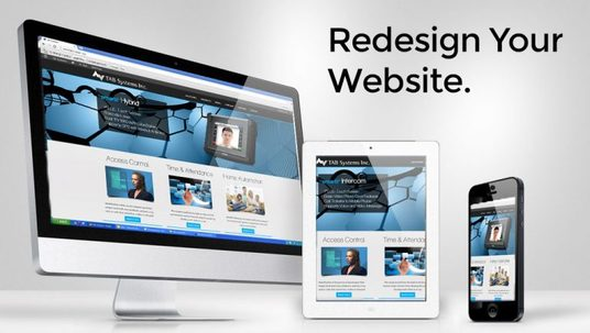 I will Redesign  your Website and Make it Awesome