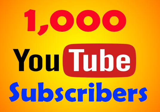 I will provide 1,000 youtube subscribers lifetime guaranteed