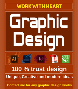do any GRAPHIC DESIGN works