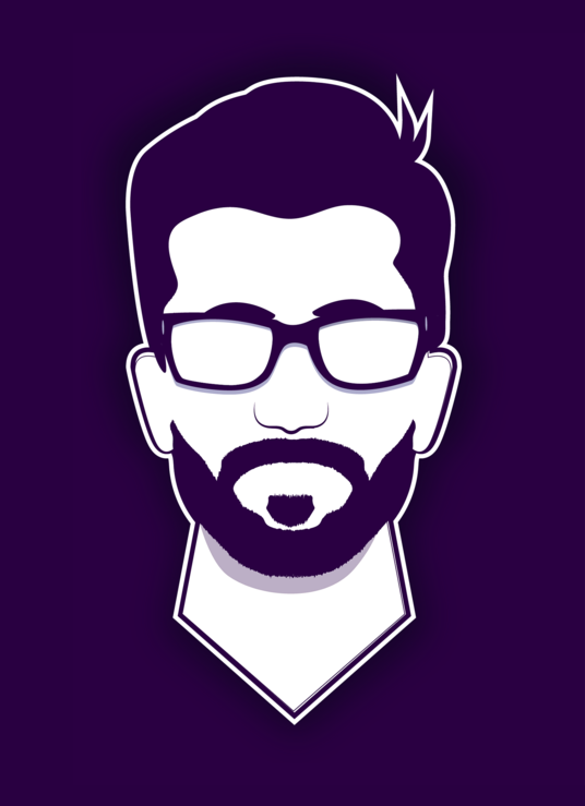 I will design minimalist flat line vector avatar of you