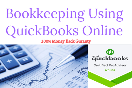 I will Do Bookkeeping in QuickBooks Online