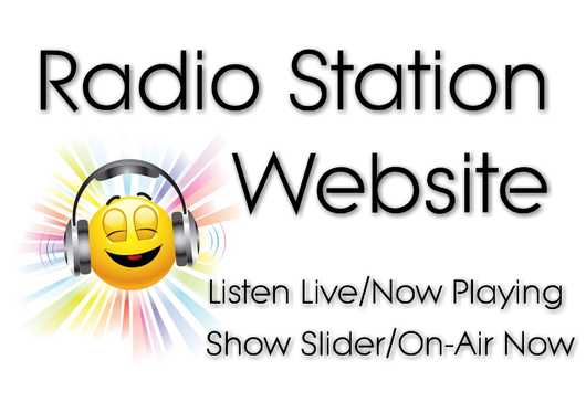 create a fully responsive radio station website
