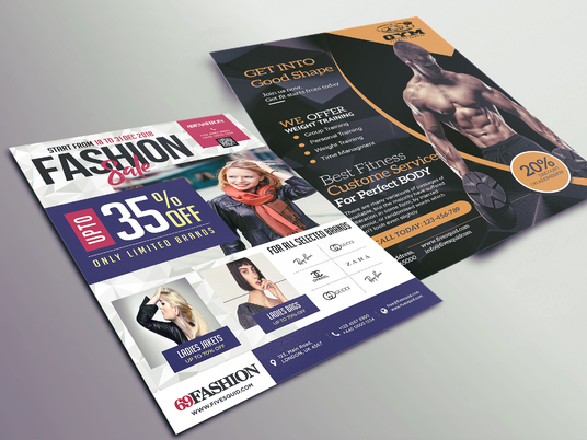 I will Design Professional Poster and Flyer