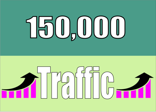 I will Add Worldwide 150,000  Traffic your Website